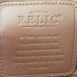 Relic Bags - Relic brown leather bag